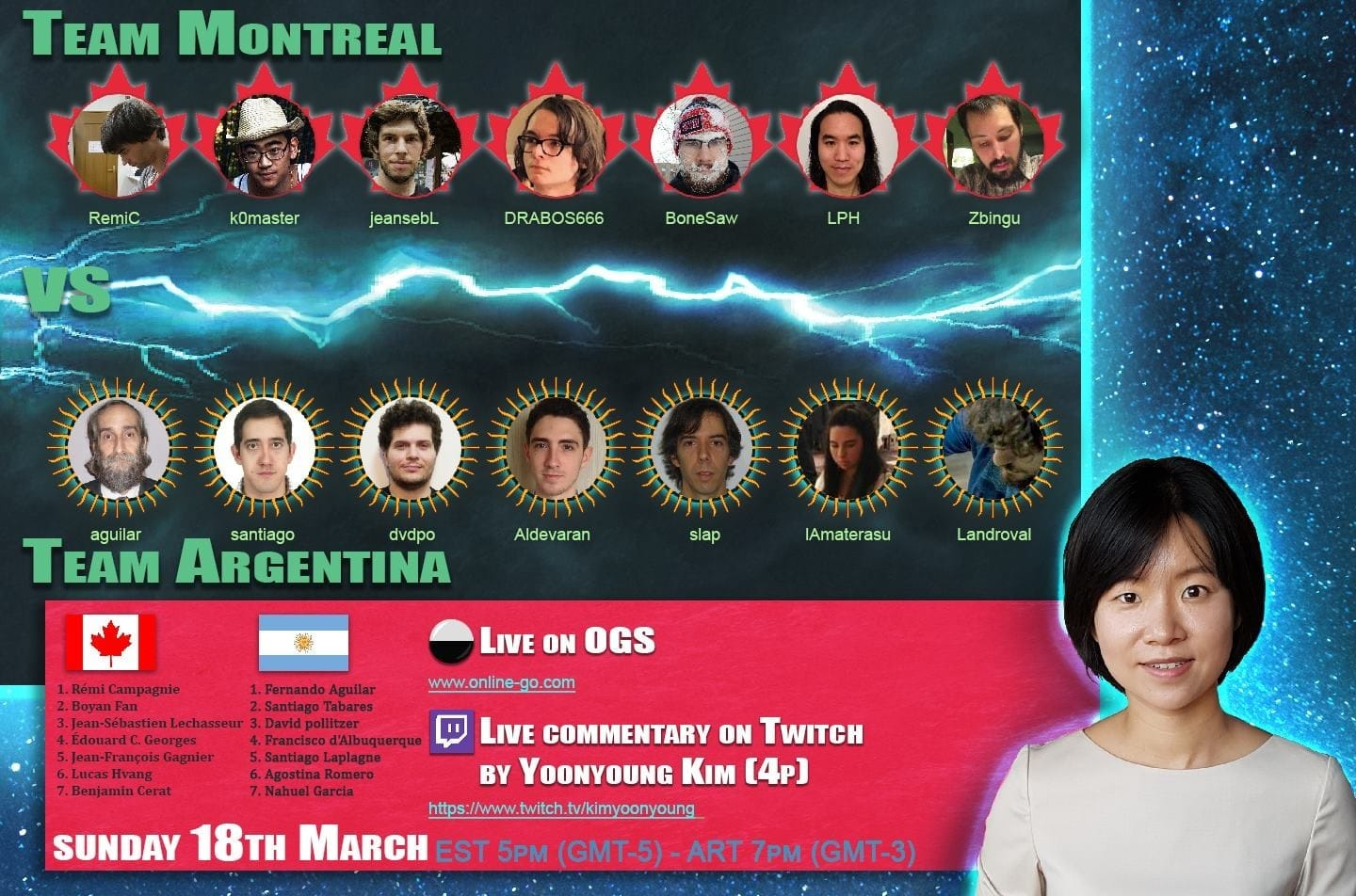 Match Amistoso: Argentina - Montreal 2018